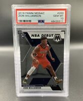 Zion Williamson *PSA 10* RC 2019 Panini Mosaic #269 New Orleans Pelicans NBA