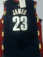 Lebron James Signed Rookie Year Jersey