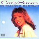 Carly Simon : Greatest Hits Live CD (Arista 1988) - 11 Genial Canciones - VGC