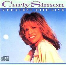 Carly Simon : Greatest Hits Live CD (Arista 1988) - 11 Genial Canciones - VGC
