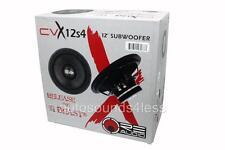 """RE Audio CVX12S4 CVX Series 300 Watts 12"""" Single 4 Ohm Car Audio Subwoofer"""