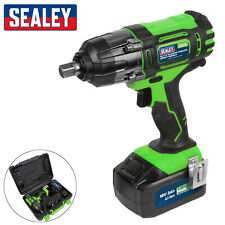 "Sealey 18V Cordless 1/2"" Impact Wrench CP400LIHV Gun 3Ah Li-ion Battery Charger"