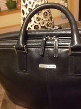 Johnston & Murphy BLACK Genuine Leather Briefcase