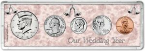 Our Wedding Year Coin Gift Set, 2008
