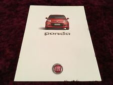 Fiat Panda Brochure 2013 inc Pop, Easy, Lounge, Trekking & 4x4