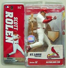 Scott Rolen St. Louis Cardinals McFarlane action figure MLB Cards NIB Series 12