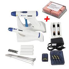 Dental Cordless Obturation ENDO System Gun & Pen Kit + Gutta Percha Bars QNRx