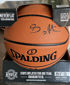 Gary Payton Seattle Supersonics Autographed Spalding Indoor/Outdoor Basketball