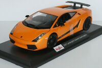 Maisto Lamborghini Gallardo Superleggera 1:18 Scale Die Cast Car New in Box