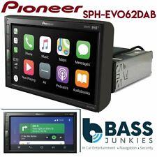 "Pioneer SPH-EVO62DAB-UNI 6.8"" Bluetooth DAB Carplay Single Din Car Stereo Screen"