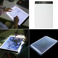 USB LED Artist Tattoo Stencil Board Light Box Tracing A4 Drawing Board Pad Table