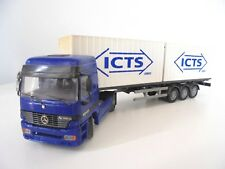 "1/50 . MERCEDES-BENZ Actros "" Porte-Container ICTS ""   JOAL"