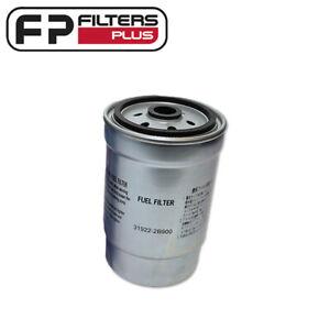 WCF129 Wesfil Fuel Filter - Hyundai CRD i30, i40, Kia CRD - 319222B900, WK824/3