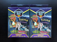 Pokemon Mystery Walmart Hanger Boxes Vintage Packs New Factory Sealed Lot Of 2