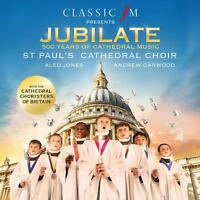 ST PAUL'S CATHEDRAL CHOIR Jubilate 500 Years Of... (2017) CD album BRAND NEW