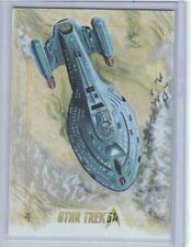 Star Trek 50th Anniversary  sketch card USS Voyager by Penix