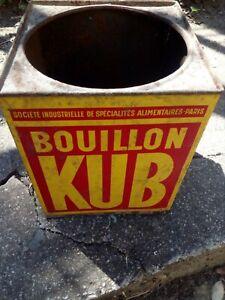 boite bouillon KUB ancienne sans couvercle