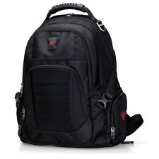 "SwissWin SW9609 Multi-functional Laptop (for 17"") Backpack (BLACK color)"