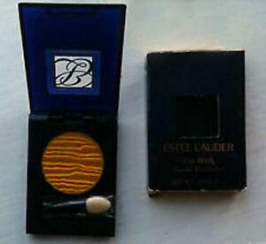 New in Box Estee Lauder Go Wink Powder Eyeshadow Gold 16-GOLDILOOKS Full Size