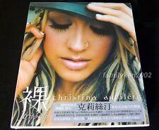Taiwan CD w/UNIQUE Slipcase + Photo Booklet SEALED! Christina Aguilera Stripped