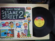 Disneyland Records Songs From SESAME STREET 2 LP 1972