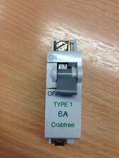CRABTREE TYPE1 6A MCB