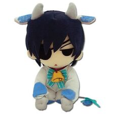 "On Sale! Black Butler GE-8999 ~ 7"" Ciel Cow Cosplay Official Plush Toy Doll"