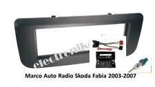 Marco de montaje Soporte auto-radio Skoda Fabia roomster 2007> + cableados fakra