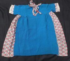 ANTIQUE HANDMADE LITTLE GIRL'S DRESS