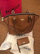 Sac à main & Pochette assortis PINKO en beau cuir saffiano /valeur boutique 350€