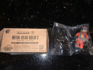 KUBRICK METAL GEAR SOLID 3 SNAKE EATER FIGURE SDCC 2005 LIMITED EXCLUSIVE NEW!!
