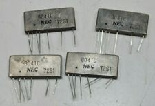Lot of 4 Nos Vintage Nec Capacitors ? Electronic Components 8041C 72S1