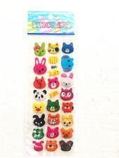 1 bear sticker, many teachers reward children, children's crafts gifts