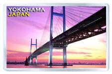 YOKOHAMA JAPAN BRIDGE FRIDGE MAGNET SOUVENIR IMAN NEVERA
