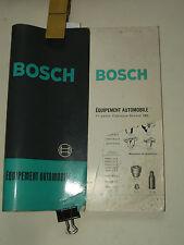 Catalogue Accessoires Auto Electrique & Phare  BOSCH  1962  brochure Eclairage