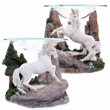 Magical Unicorn Oil Burner 11cm High Tea Light Holder Fantasy Mythical