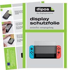 2x Nintendo Switch Schutzfolie matt Displayschutzfolie Folie dipos Displayfolie