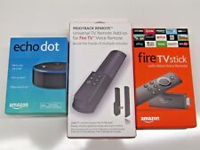 Combo echo Dot & Fire TV Stick with Alexa Voice Remote 2nd Generation