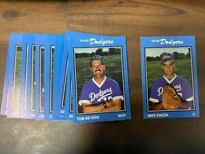 1989 Salem Dodgers MIKE PIAZZA (RC) HOF  Minor League  Team Set