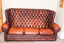 Leather Vintage/Retro Sofas, Armchairs & Suites