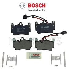 Brake Pads Set with Sensor & Mounting Hardware Kit Bosch For Caynne Q7 Touareg