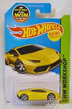 Lamborghini Huracan LP 610-4 1/64 Diecast From the 2011 Workshop by Hot Wheels
