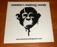 Darwin's Waiting Room Poster 2-Sided Flat Square Promo 12x12 RARE Metal Rap