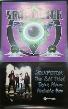 SOULMOTOR - original 1997 CMC promotional poster, 11x17, EX, metal