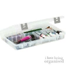 Large Clear Organiser Box 3-28 Customisable Compartments Utility Box