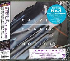 CALVIN HARRIS-MOTION-JAPAN CD BONUS TRACK E78