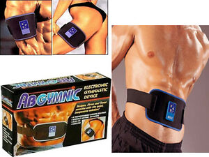 ABGYMNIC ABS AB BELT MUSCLE TONING GYM 100ml CONDUCTIVE GEL BOTTLE FITNESS GIFT