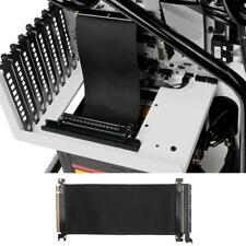 PCI Express High Speed 16x Flexible Cable Extension Port Adapter Riser Card #JD