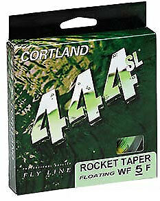CORTLAND FLY FISHING LINE 444 WF8S 27m brown*
