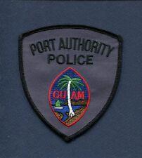 PORT AUTHORITY POLICE DEPARTMENT GUAM USA Uniform Jacket Patch
